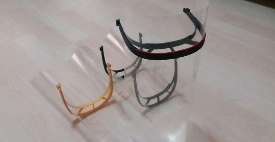 3D Yazıcı İle Maske Ürettiler