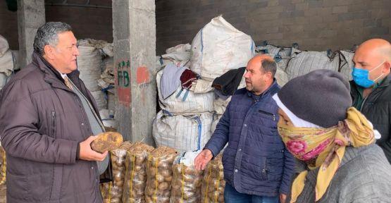 """""""4 kilo patates, bir maske parasına satılıyor"""""""