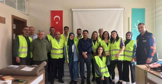 AFAD Gönüllülerine İlk Yardım Eğitimi
