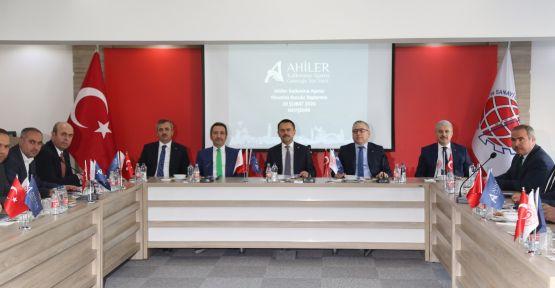 AHİKA Şubat Ayı Yönetim Kurulu Toplantısı Niğde'de Yapıldı
