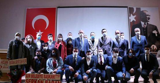 AK Parti Bor Gençlik Kolları Kongresi Yapıldı