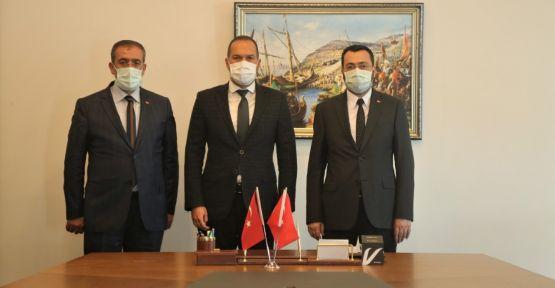 Ak Parti Niğde İl yönetiminden Başkan Özdemir'e ziyaret