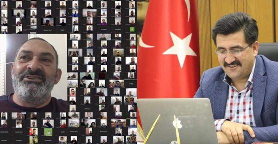 Ak Parti Teşkilatının Bu Haftaki Konuğu Dursun Ali Erzincanlı