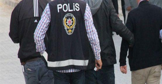 Aranan 8 Kişi Gözaltına Alındı