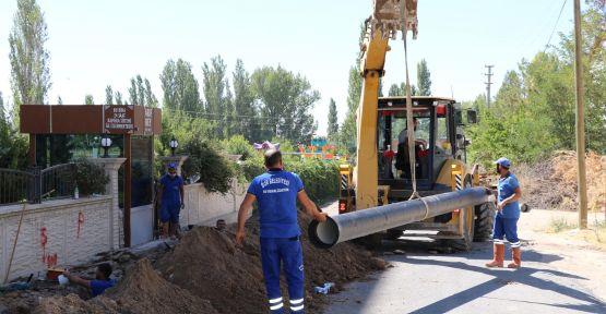 Bor'da Şebeke Hatlarına Dev Yatırım