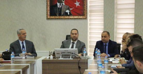 Başkan Özdemir Belediye Birim Müdürleri İle Bir Araya Geldi