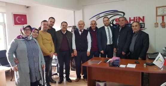 Başkan Özdemir Esnaf Ziyaretlerine Devam Ediyor