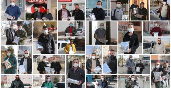 Başkan Özdemir Gazetecileri Unutmadı