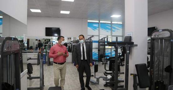 Başkan Özdemir'den Gençlik Merkezine Hijyen Kontrolü