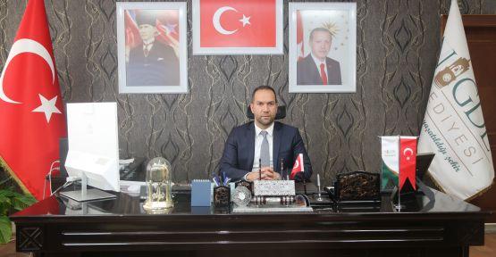 Başkan Özdemir'in Atatürk'ün Niğde'ye gelişinin 87. Yıl Mesajı