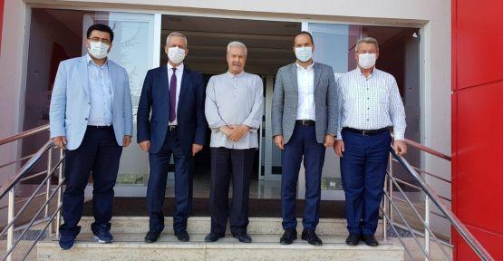 Başkan Özdemir'in Niğde OSB Ziyaret Etti
