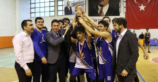 Basketbolda İl Şampiyonu Final Akademi Anadolu Ve Fen Lisesi Oldu