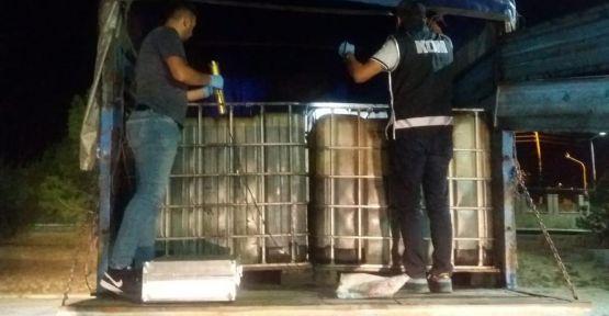 Bor'da 11 Bin 750 Kg Kaçak Akaryakıt Ele Geçirildi