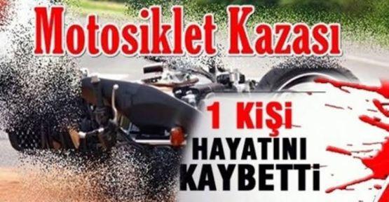 Bor'da Motosiklet Kazası: 1 Ölü