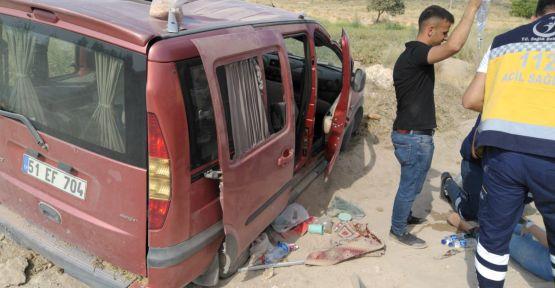 (VİDEO HABER) Bor'da Trafik Kazası! 3 Yaralı