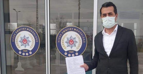 CHP Niğde İl Başkanı Erhan Adem ifadeye çağrıldı