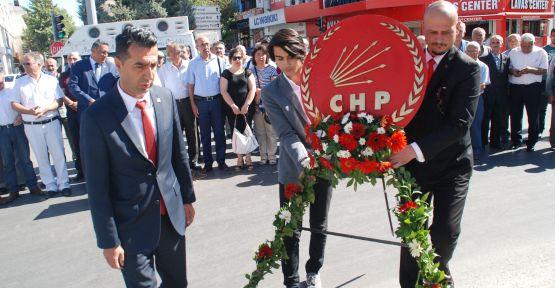 CHP'nin Kuruluş Yıldönümü Törenle Kutlandı