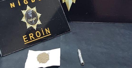 Emniyetten Uyuşturucu Operasyonu 1 Tutuklama