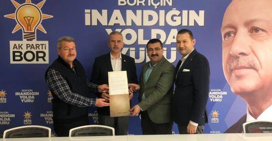 Erdoğan'ın Mektubu Ergun'a Teslim Edildi