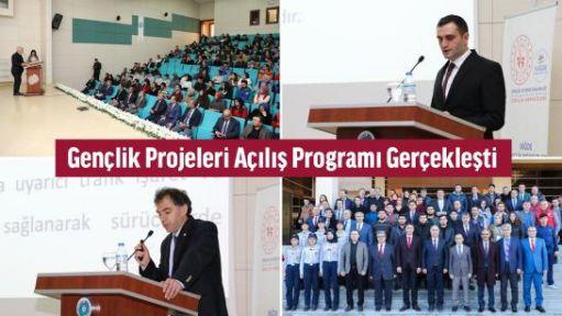 Gençlik Projeleri Açılış Programı Gerçekleşti