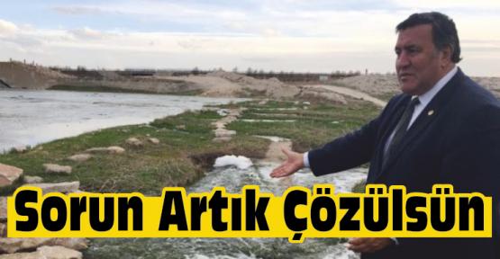 Gürer Akkaya Barajı Sorununun Çözümlenmesini İstedi