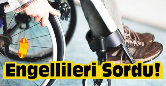 """Gürer """"Engelli Vatandaşımız da Payını Alıyor"""""""