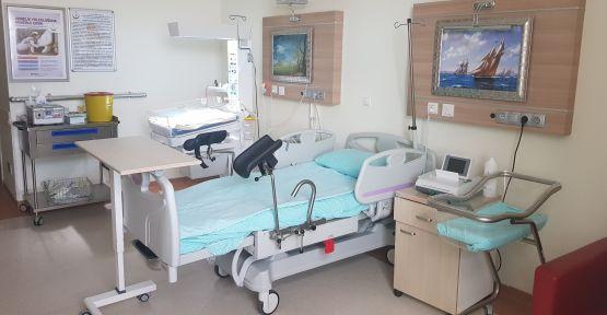 Hastanede Otel Konforunda Doğum  Lohusa Odası Kuruldu