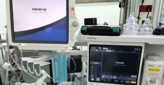 Hastanede Yeni Anestezi Cihazları