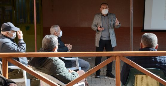 Hüsniye köyünde verimli sulama sistemleri kursu verildi