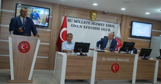 İl Genel Meclisinin Konuğu CHP Milletvekili Gürer Oldu