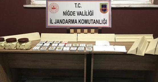 Jandarma'dan Sazlıca'da Kumar Baskını