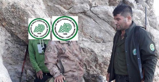 Kaçak Yaban Keçisi Avlayan 2 Kişiye Para Cezası Kesildi