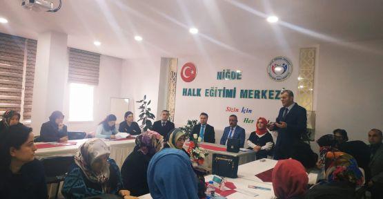 Kadın Kooperatifleri Kurulması Ve Güçlendirilmesi Toplantısı Yapıldı