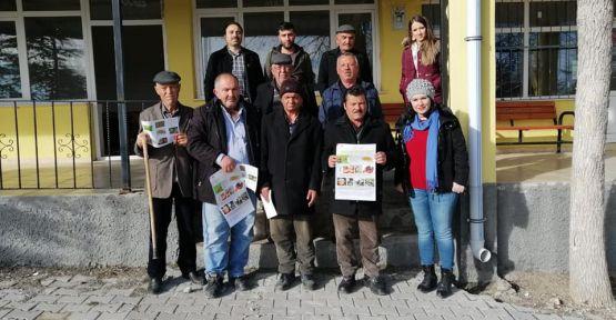 Köylerde Akdeniz Sineği İle Mücadele Anlatıldı
