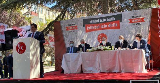MHP'de İl Başkanlığı Kongresi Gerçekleştirildi