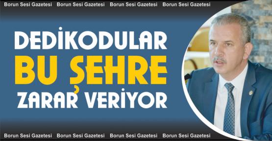 Milletvekili Ergun ve Başkan Özdemir, Dedikodular Bu Şehre Zarar Veriyor
