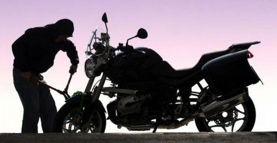Motosiklet Hırsızlığı Yapan Şahıs Yakalandı