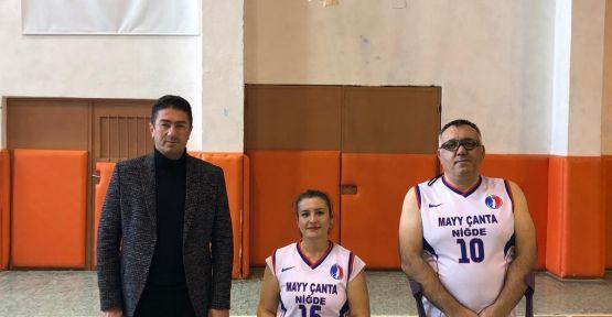 Niğde Bedensel Engelli Basketbol Takımından A Milli Takıma