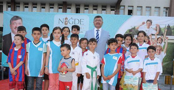 Niğde Belediyesi Yaz Spor Okulları Açıldı