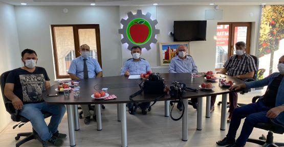 Niğde Elma Üreticileri Birliğine Destek
