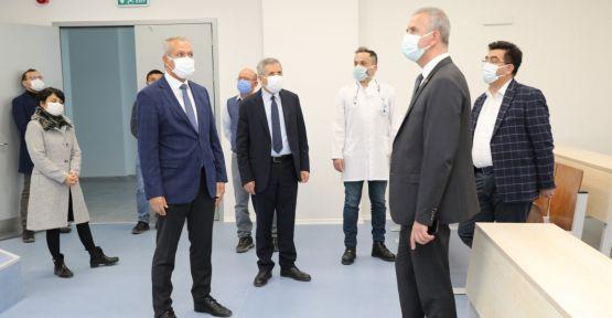 Niğde Milletvekilinden Tıp Fakültesine Ziyaret