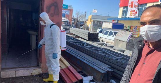 Niğde Sanayisinde İşyerleri Dezenfekte Edildi