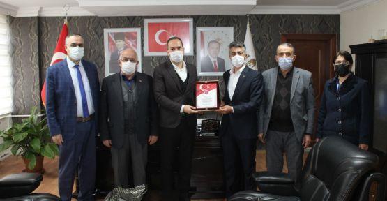 Niğde Şehit Aileleri Derneği'nden Başkan Özdemir'e Ziyaret