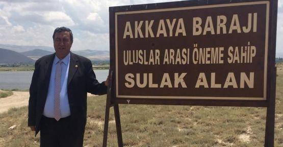 """""""Niğde'de Çevre Felaketi Akkaya Barajı Kaygılandırıyor"""""""