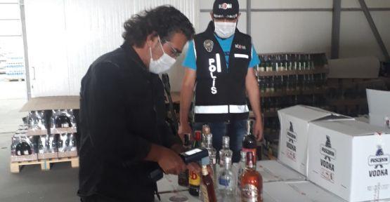 Niğde'de Kaçak ve Sahte İçki Denetimi Yapıldı