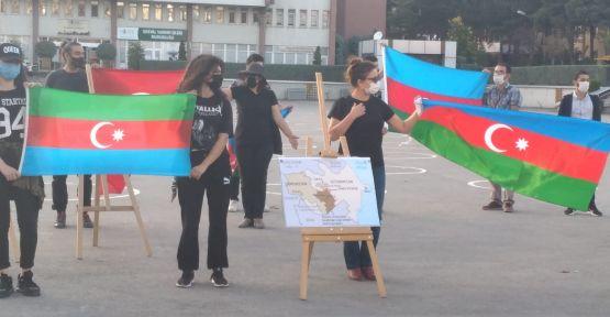 Niğde'de Okuyan Azerbaycanlı Öğrenciler'den Kınama