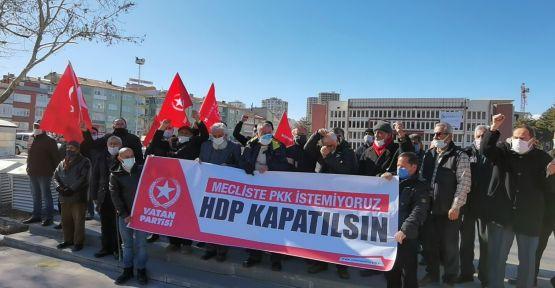 Niğde'de Vatan Partisinden HDP kapatılsın çağrısı