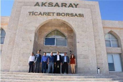 Özegen'den Aksaray Ziyareti