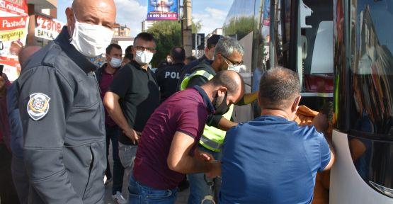 Polisten Kaçan Mülteciler Yakalandı