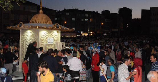 Ramazan Şerbeti İkram Çeşmesi'nden